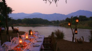 Two great waters, two safaris, two countries
